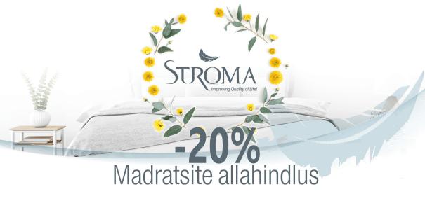 Stroma madratsid soodus kampaania Voodike.ee